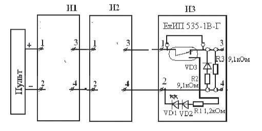 Рис. 8 Схема включения